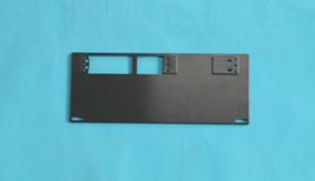 五金加工生产铝合金键盘底盖