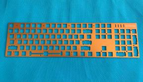 五金金属键盘铁板面板上盖
