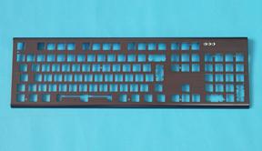 不锈钢五金键盘面板