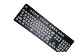 专业生产五金金属机械键盘面板 铁板 上盖