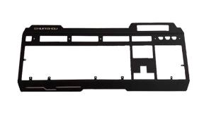 五金金属机械游戏键盘面板 上下盖 金属配件电子冲压产品