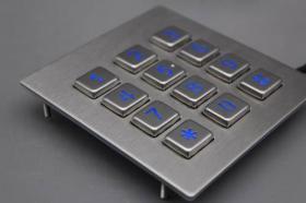 什么是工业金属键盘